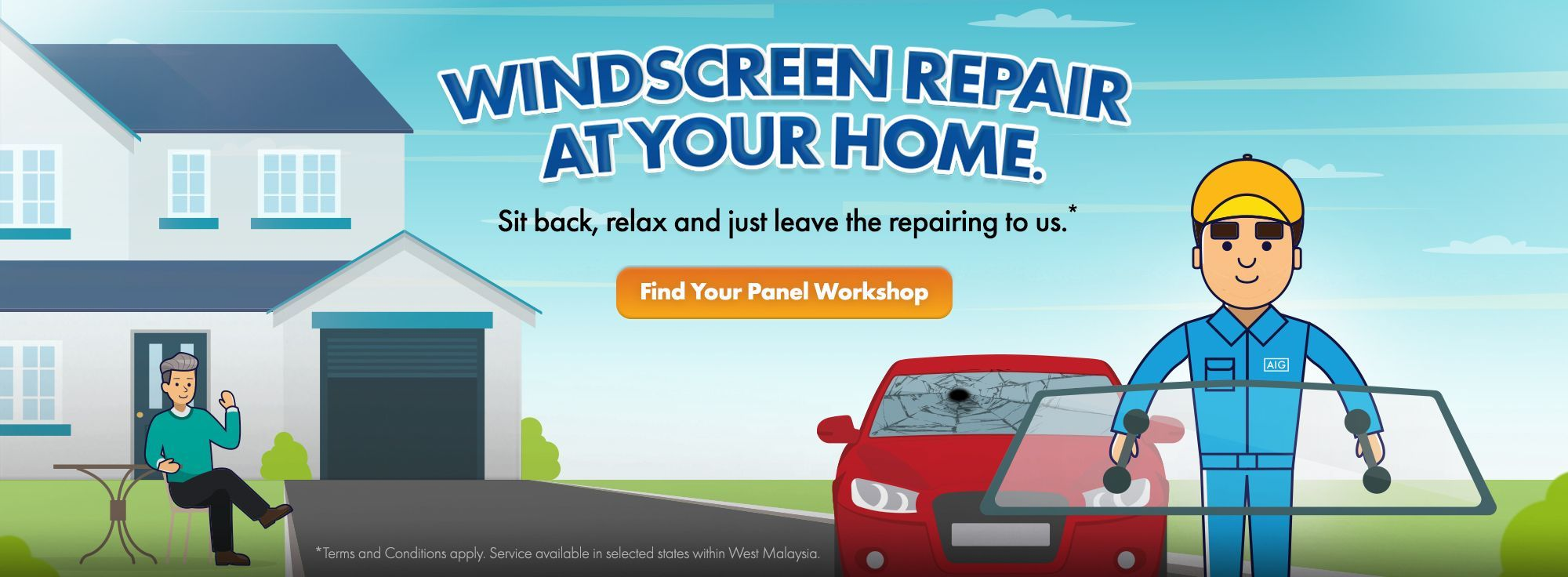 Windscreen Repair Panel